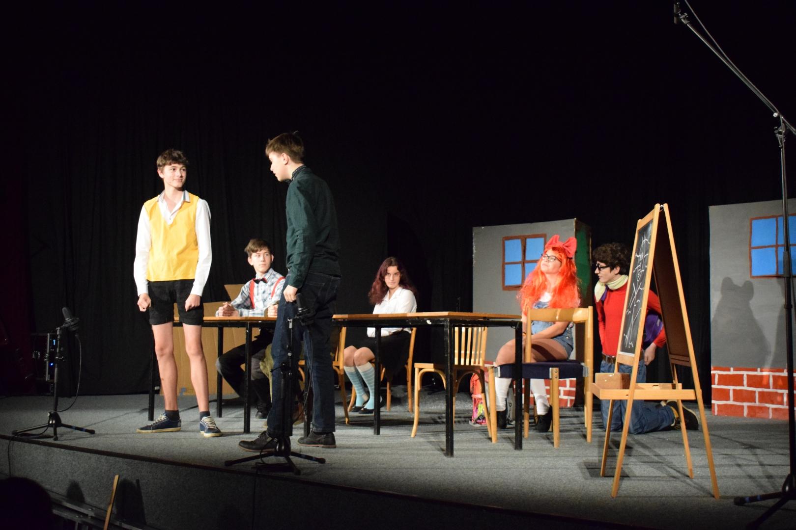 divadelní představení tercie