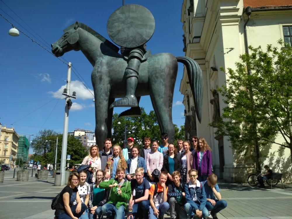 Žáci GT v Brně